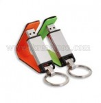 USB Promosi Leather Keychain 001
