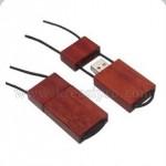 USB Wood Necklace