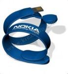 USB WRISTBAND SLAP ON